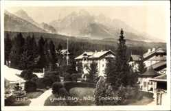 Postcard Nizny Smokovec Slowakei, Vysoke Tatry, Hohe Tatra, Kurort