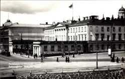 Postcard Helsinki Helsingfors Südfinnland, Präsidentenschloss