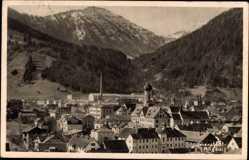 Postcard Immenstadt Bayrisches Allgäu, Blick auf den Ort mit Steineberg und Stuiben