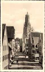 Postcard Nördlingen im Nördlinger Ries Schwaben, Bergerstraße
