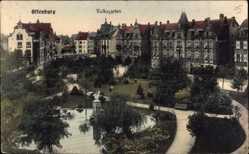 Postcard Offenburg im Schwarzwald Ortenaukreis, Blick auf den Volksgarten