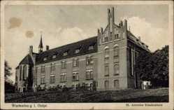 Ak Barczewo Wartenburg Ostpreußen, St. Antonius Krankenhaus
