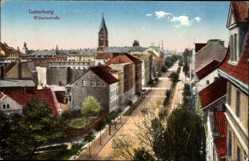 Ak Tschernjachowsk Insterburg Ostpreußen, Wilhelmstraße mit Häusern