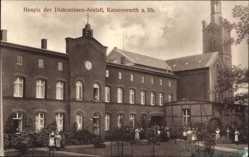 Postcard Kaiserswerth Düsseldorf am Rhein, Hospiz der Diakonissen Anstalt
