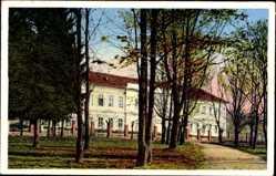 Postcard Eperjes Prešov Preschau Slowakei, Kasaren, Kaserne