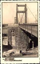 Postcard Belgrad Serbien, Most Kralja Aleksandra I., Brücke
