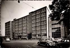 Foto Ak Oberhausen Sterkrade am Rhein, Verwaltungsgebäude Gutehoffnungshütte