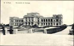 Postcard São Paulo Brasilien, Monument do Ypiranga, Denkmal, Schloss