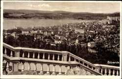 Postcard Šibenik Sebenico Kroatien, Pogled sa Vidilice Zvijezda