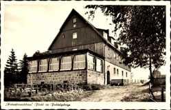 Postcard Warmensteinach Oberfranken Bayern, Naturfreundehaus Fleckl