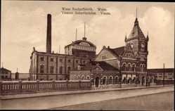 Postcard Vaasa Wasa Finnland, Sockerfabrik, Sokeritehdas, Zuckerfabrik