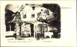 Postcard Hansestadt Bremen, Albergo al Räuberhöhle, Bazar 1898