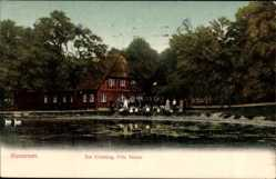 Postcard Sieversen Rosengarten Kreis Harburg, Zur Erholung, Fritz Peters