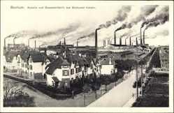 Postcard Bochum im Ruhrgebiet, Kolonie und Gussstahlfabrik des Bochumer Vereins