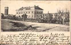 Postcard Ujhely Slovenské Nové Mesto Slowakei, Kir. dohanygyar