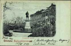 Postcard Székesfehérvár Stuhlweißenburg Ungarn, Vörösmarty szobor, Denkmal