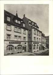 Postcard Nürnberg, Hotel Reichshof, Johannesgasse 18, Bes. Josef Bindl
