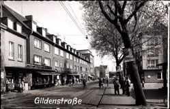 Foto Ak Oberhausen Osterfeld am Rhein, Geschäfte in der Gildenstraße