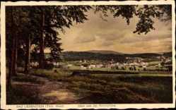 Postcard Bad Liebenstein im Wartburgkreis, Blick von der Reichshöhe