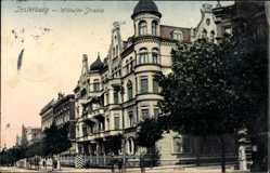 Ak Tschernjachowsk Insterburg Ostpreußen, Wilhelm Straße, Gebäude