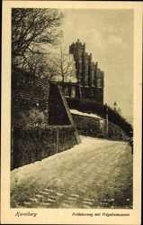 Postcard Havelberg in Sachsen Anhalt, Prälatenweg mit Prignitzmuseum, Giebel