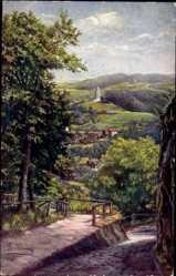 Künstler Ak V. Wening, B.,Lutherstadt Eisenach Thüringen,Burschenschaftsdenkmal