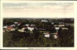 Postcard Sevljuš Wynohradiw Ukraine, Celkovy pohled, Totalansicht der Ortschaft