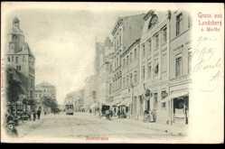 Ak Gorzów Wielkopolski Landsberg Warthe Ostbrandenburg, Richtstraße