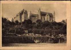 Postcard Marburg an der Lahn, Schlossansicht, WHW Volkswohlfahrt