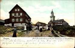 Postcard Niederreifenberg Schmitten im Hochtaunuskreis, Drei Gasthäuser