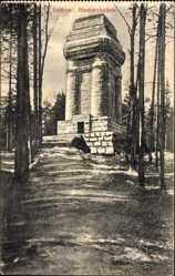 Postcard Itzehoe in Schleswig Holstein, Partie an der Bismarcksäule