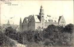 Postcard Hansestadt Bremen, Blick auf das neue Technikum