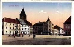 Postcard Jülich in Nordrhein Westfalen, Blick auf den Marktplatz, Kinder