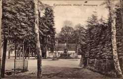 Postcard Kaiserslautern in Rheinland Pfalz, Rheinpf. Waldeingang, Brunnen