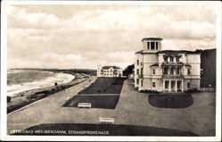 Postcard Heiligendamm Bad Doberan im Kreis Rostock, Die Strandpromenade