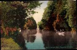 Postcard Neuruppin in Brandenburg, Die Neumühle am Rhin