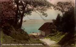Postcard Ostseebad Göhren auf Rügen, Ostseebad, Altes Fischerhäuschen