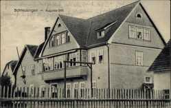 Postcard Schleusingen in Thüringen, Blick auf das Haus Augusta Stift