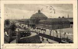 Postcard Dortmund im Ruhrgebiet, Hauptbahnhof mit Vehmlinde Bastei
