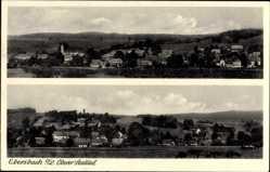Postcard Ebersbach Neugersdorf, Panoramaansicht der Stadt