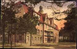 Postcard Lindow in der Mark,Genesungsheim Klosterheide der Krankenkasse Charlottenburg
