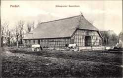 Postcard Meldorf an der Miele, Dithmarscher Bauernhaus