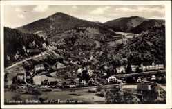 Postcard Schiltach im Schwarzwald Baden Württemberg, Gesamt von Forstwiese aus