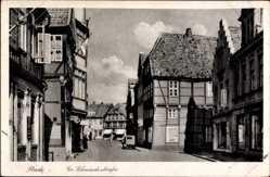 Postcard Stade in Niedersachsen, Partie in der Großen Schmiedestraße