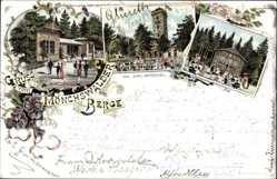 Litho Wilthen im Kreis Bautzen Sachsen, Mönchswalder Berge, Inh. Emil Gröschel