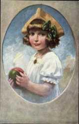 Künstler Ak Gölz, H., Mausi, Portrait eines Mädchens, Wico 1023