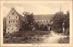 Postcard Chorin im Kreis Barnim, Gesamtansicht des Klosters