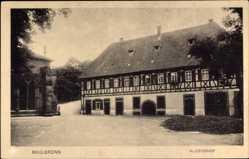 Postcard Maulbronn im Enzkreis Baden Württemberg, Der Klosterhof