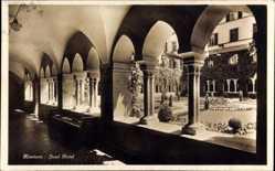 Postcard Konstanz am Bodensee, Kreuzgang und Innenhof im Insel Hotel