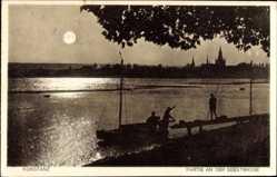 Postcard Konstanz am Bodensee, Partie an der Seestraße